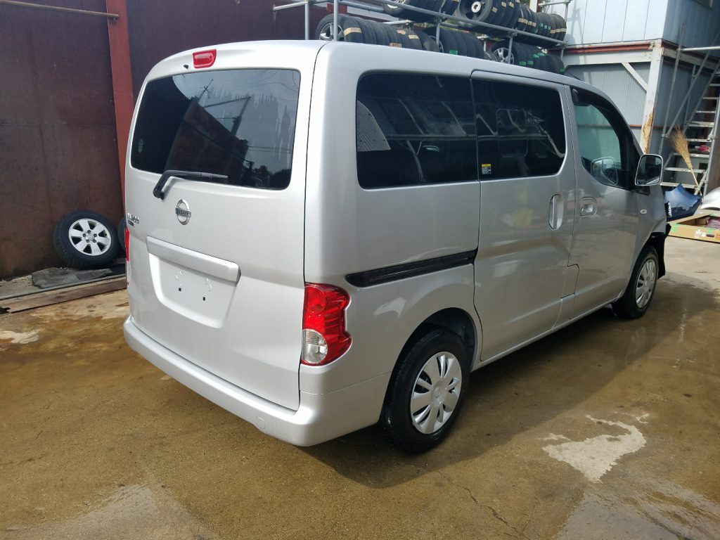 日産 NV200 事故車引取