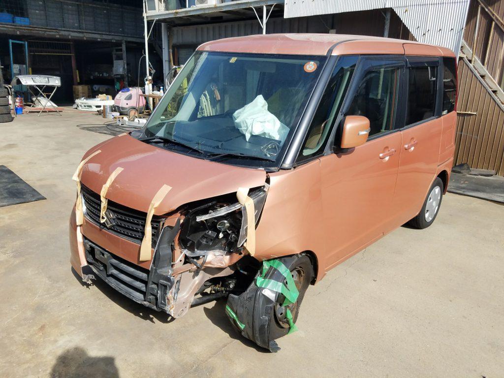 神戸市須磨区廃車買取 スズキ パレット MK21S