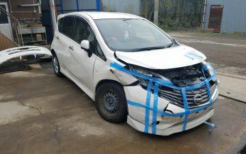 日産 ノート E12 事故車 廃車 買取