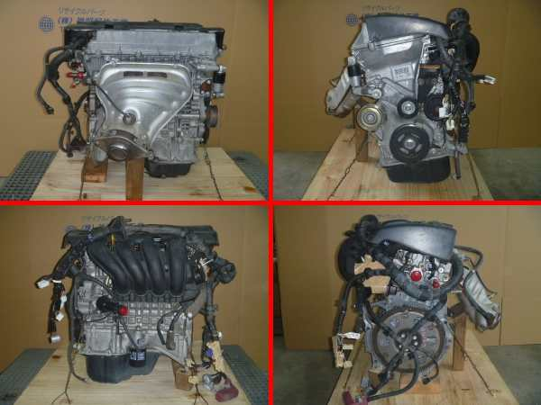 ウィッシュ ZNE10G エンジン修理