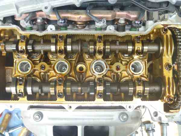 ウィッシュ ZNE10G エンジン載せ換え