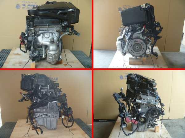 ルークス ML21S エンジン脱着交換