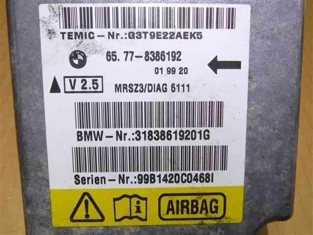 リサイクルパーツ BMW Z3 E36 エアバッグコンピューター