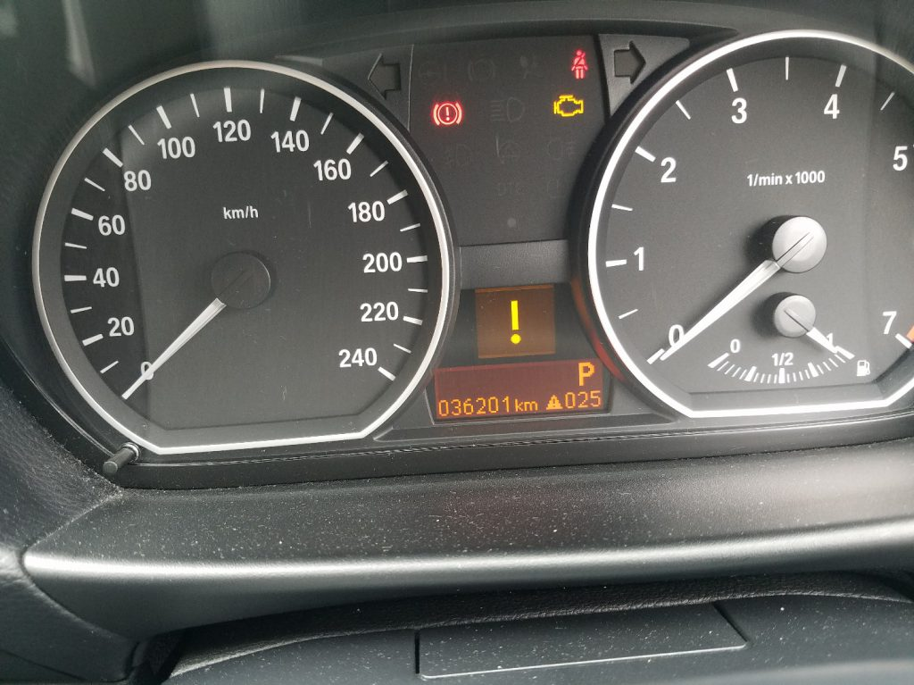 兵庫事故車引取 BMW116i E87