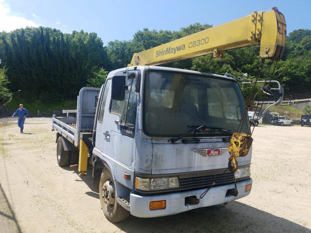 神戸トラック買取 日野4トンユニック車 FD3HGA