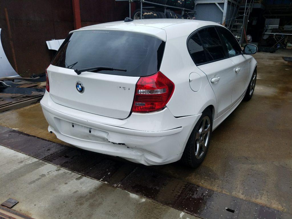 BMW116iE87リアゲート BMW116iE87リアガラス BMW116iE87テールライト BMW116iE87テールランプ BMW116iE87リアバンパー