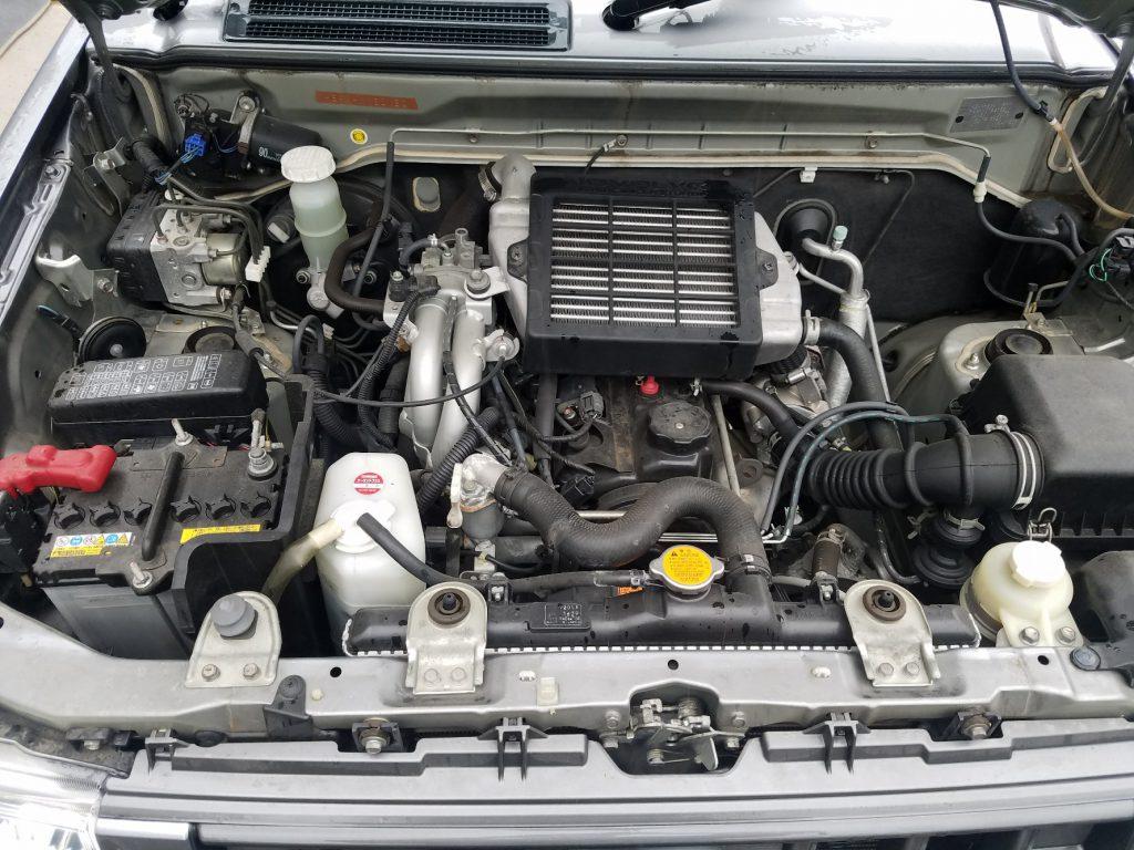 神戸リサイクルパーツ 中古エンジン 中古エンジンキックスH59A 中古ターボエンジン