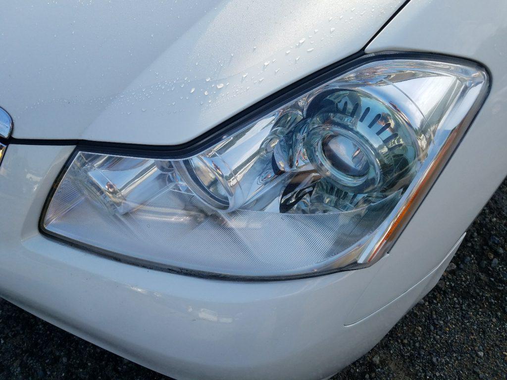 日産 フーガ Y50 きれいなヘッドライト左