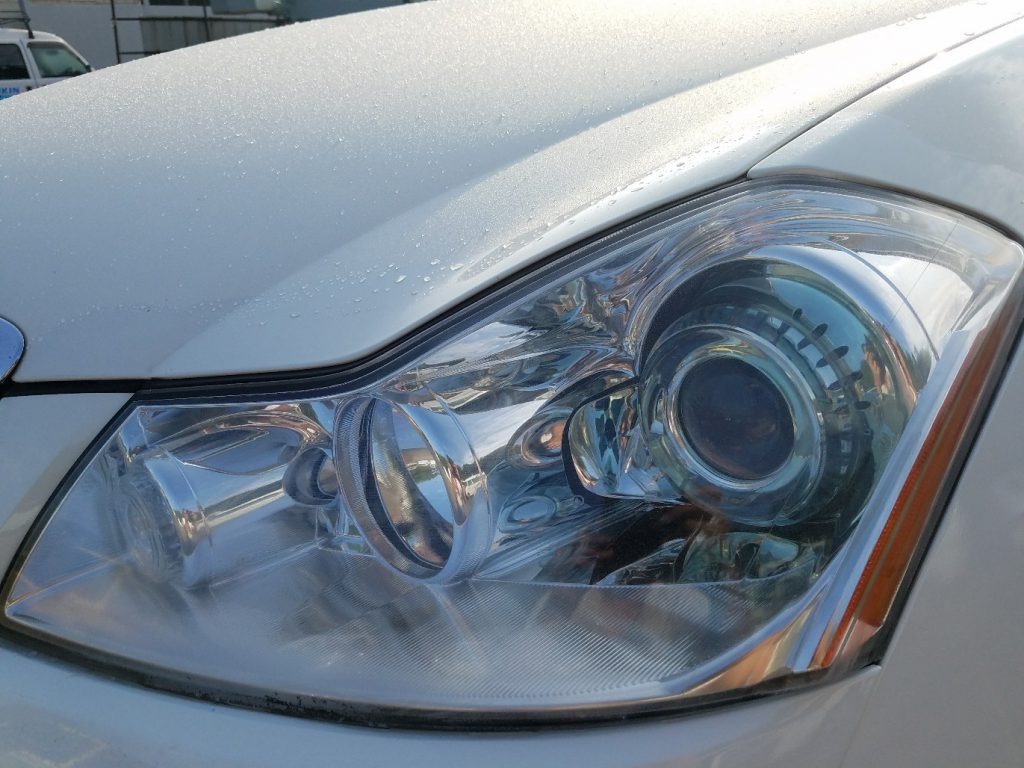 日産 フーガ Y50 希少な美品ヘッドライト左