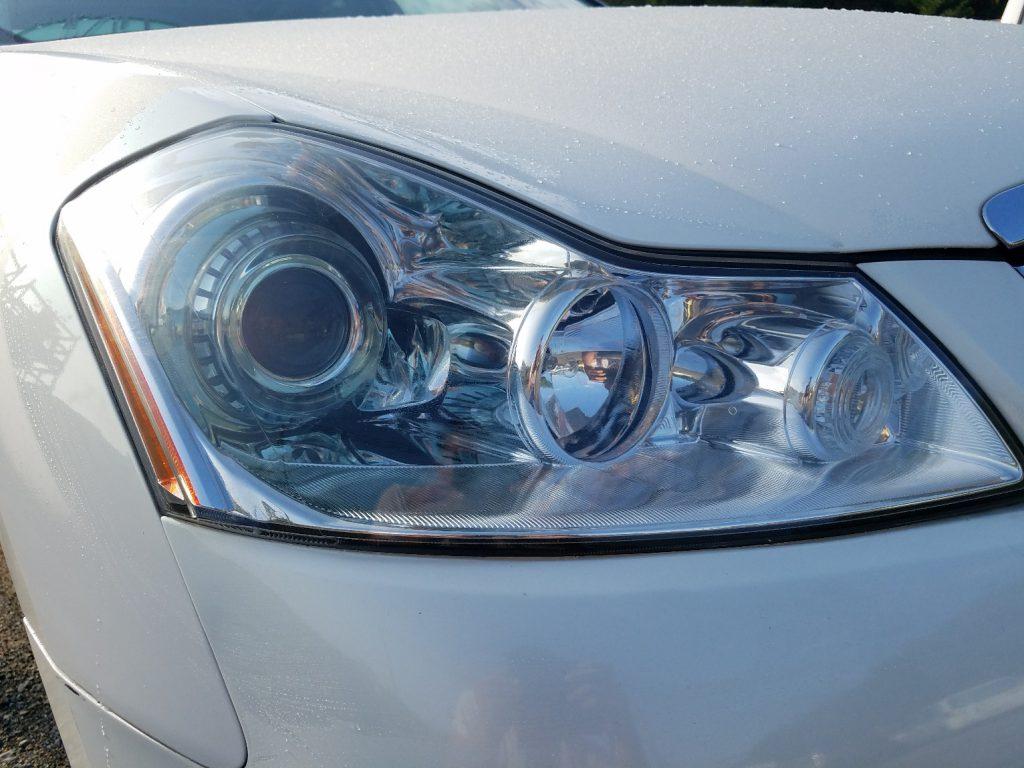 日産 フーガ Y50 きれいなヘッドライト右