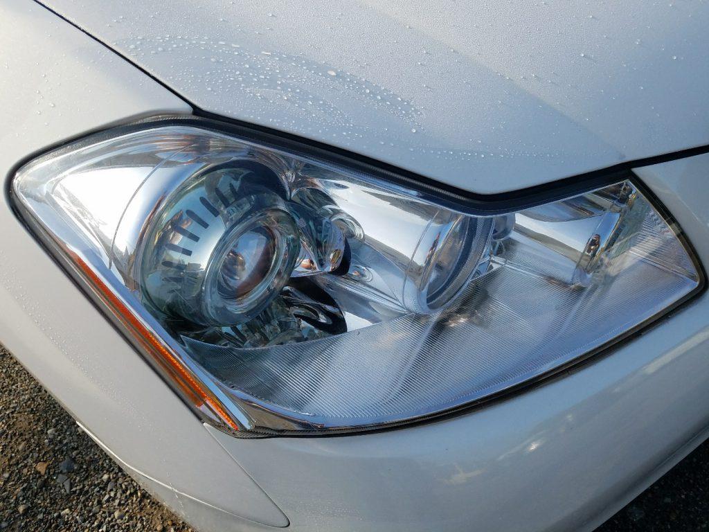 日産 フーガ Y50 希少な美品ヘッドライト右