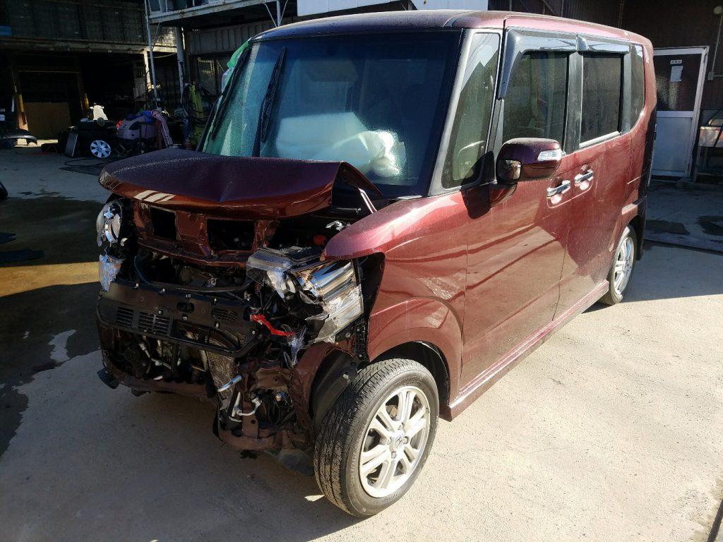尼崎市の事故車引取
